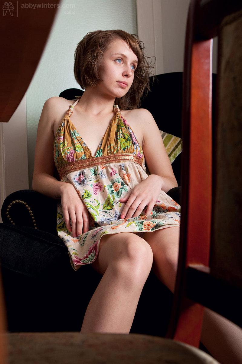 Amateur teen strip lingerie vanda picked up 6